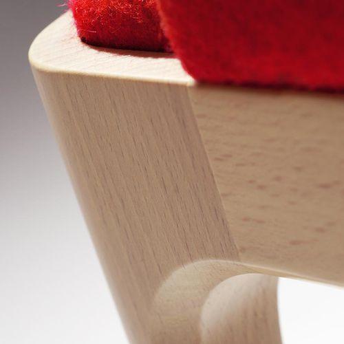Poltrona moderna / in legno / in tessuto / bridge TIP TAP : 381 by Claudio Perin TEKHNE S.r.l.