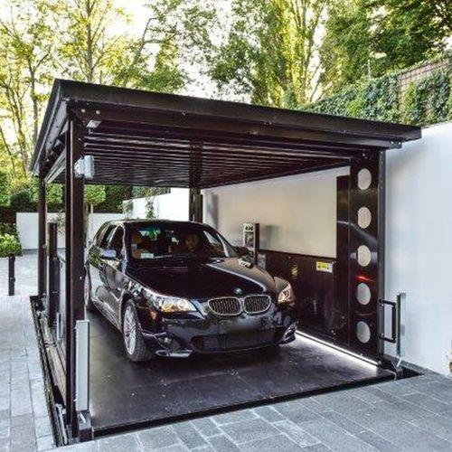 ascensore idraulico / per auto
