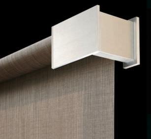 tenda da sole a rullo / in alluminio / per installazioni a soffitto