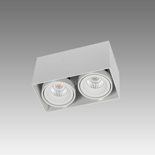 Faretto da soffitto / da interno / LED / quadrato PICCOLO LOOK OUT SINGLE/DOUBLE/TRIPLE/QUATRO Orbit NV