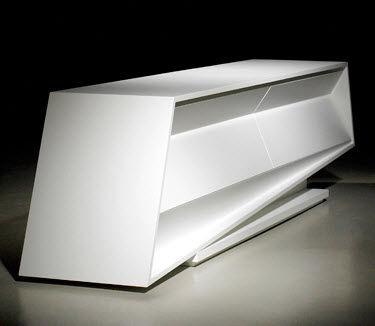 Mobile porta TV design originale / in legno - DEEP : D-040 - OPOSTOS ...