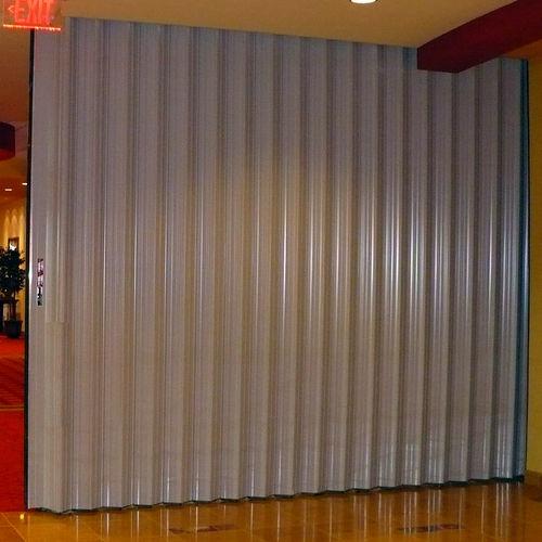 parete pieghevole / in alluminio / ad uso professionale / acustica