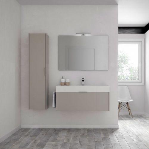 mobile lavabo sospeso / da appoggio / in legno / in melamminico