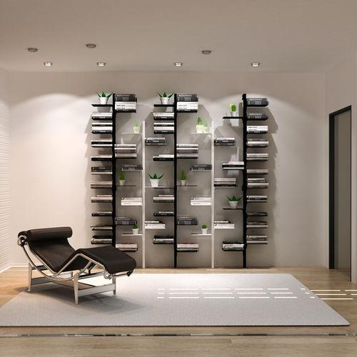 libreria modulare / a muro / alta / bassa