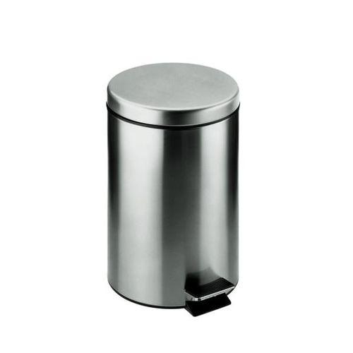 pattumiera da bagno / a pavimento / in acciaio inossidabile / a pedale