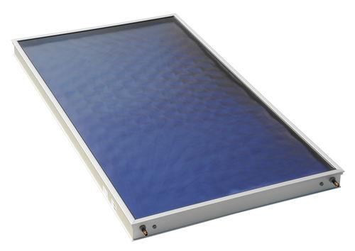 pannello termico piano / per riscaldamento / in vetro antiriflesso / con telaio in alluminio