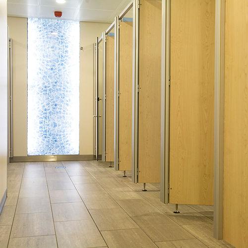 cabina WC per bagno pubblico / in HPL