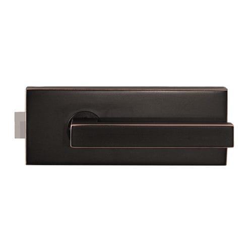 serratura meccanica / per porta a vetri / con impugnatura