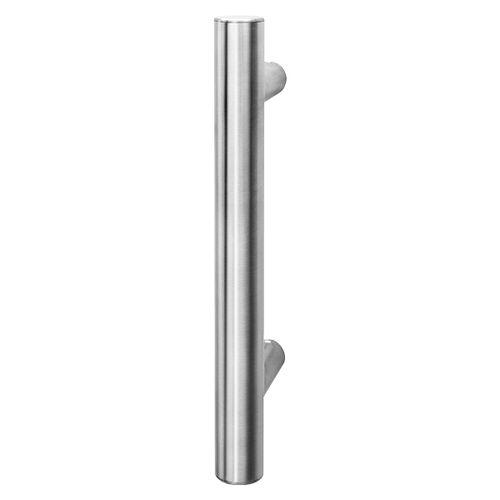 maniglia a tirante per porta / in acciaio inox / moderna