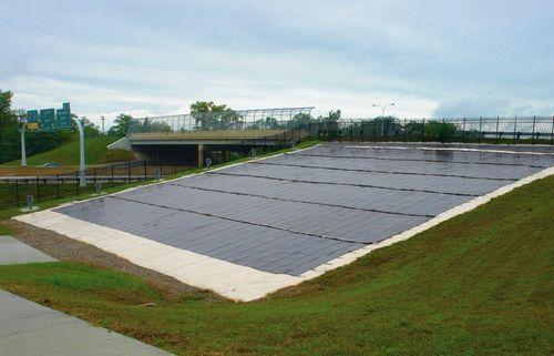 pannello fotovoltaico a film sottile / al silicio amorfo