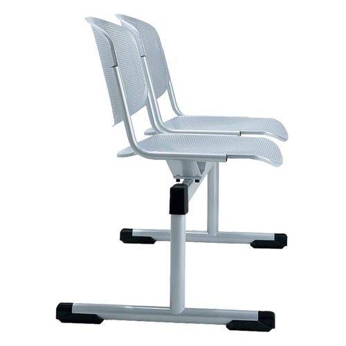 Sedute su barra in acciaio / 2 posti / da interno TYPO by Gerd Rausch BRUNE Sitzmöbel GmbH