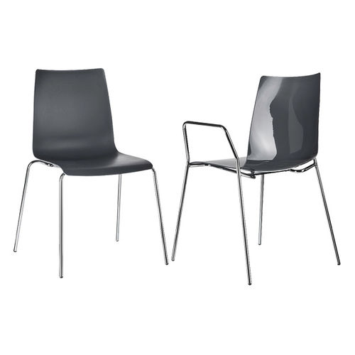 Sedia visitatore moderna / in plastica / in acciaio / impilabile UNICUS Design Prof. Matthias Rexforth BRUNE Sitzmöbel GmbH