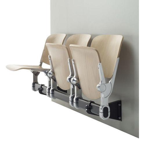 Sedute su barra in legno / 3 posti / da interno HOLIDAY1 HOLZ BRUNE Sitzmöbel GmbH