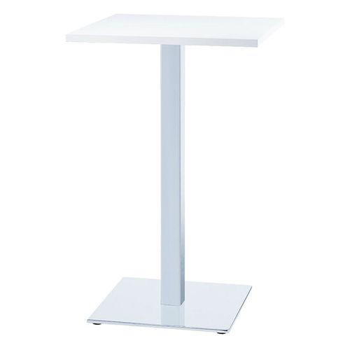 Tavolo alto moderno / in acciaio / quadrato / professionale 4335 SPARTA BRUNE Sitzmöbel GmbH