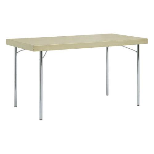 Tavolo moderno / in acciaio / rettangolare / per edifici pubblici 4412 BRUNE Sitzmöbel GmbH