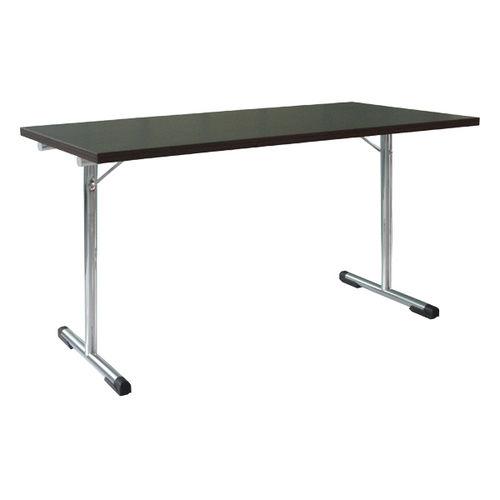 Tavolo moderno / in acciaio / rettangolare / per edifici pubblici 4490 BRUNE Sitzmöbel GmbH