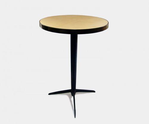 tavolino classico / in bronzo / tondo