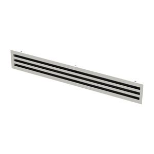 diffusore d'aria da soffitto / lineare / a fessura