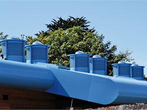 lucernario tubolare con ventilazione naturale integrata