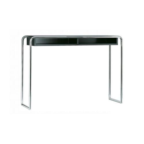 consolle moderna / in metallo / in legno laccato / rettangolare