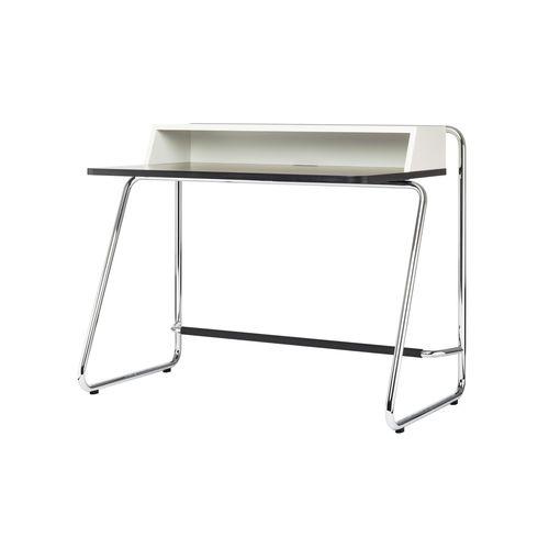 scrivania in legno / in acciaio / moderna / con vano contenitore