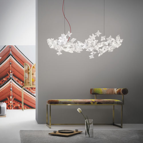lampada a sospensione / design originale / in policarbonato / in Lentiflex®