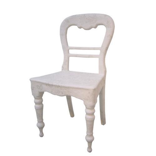 sedia classica / in materiale di recupero / in poliestere / in PVC