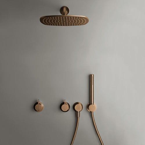 Set doccia da parete / moderno / con doccia a mano / con soffione fisso PB SET22 COCOON