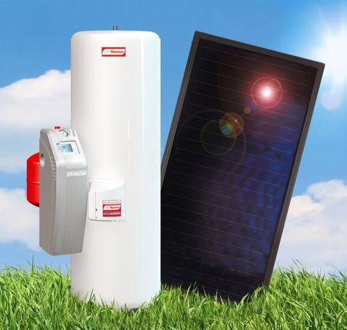 scaldacqua solare / da appoggio / verticale