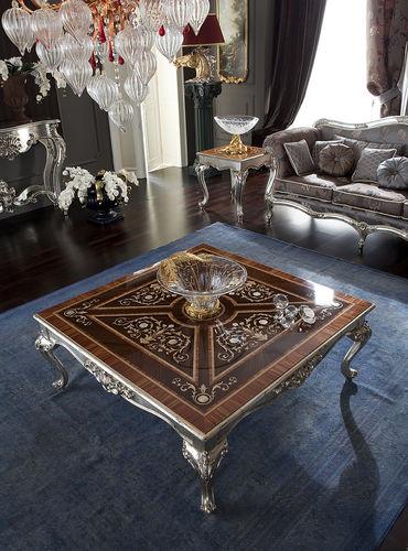 tavolino basso in stile / in legno / in metallo / in marmo