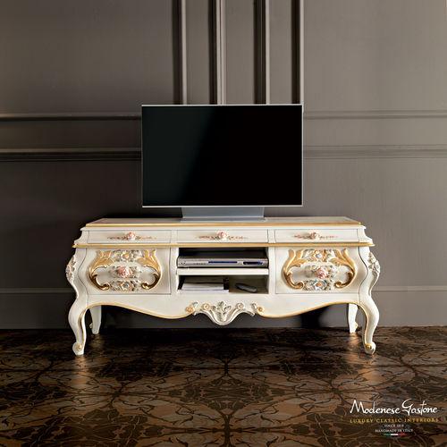 mobile porta TV in stile / in legno
