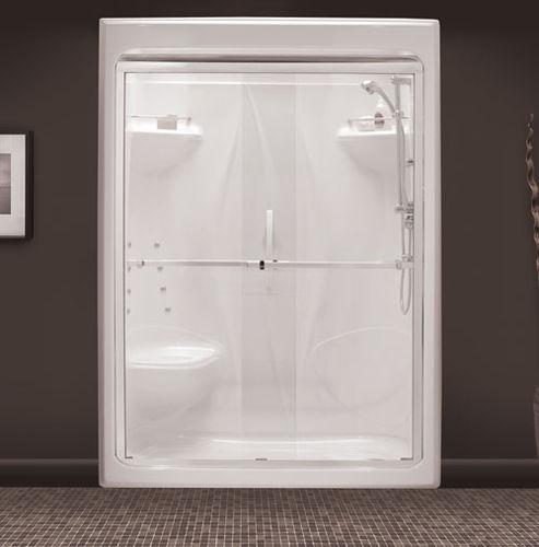 parete doccia scorrevole / a nicchia