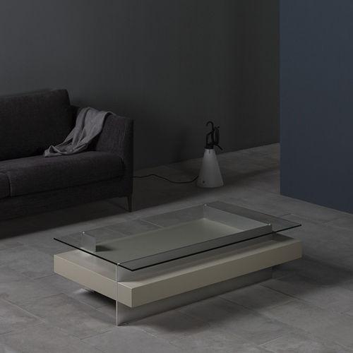 Tavolino basso moderno / in quercia / in noce / in MDF laccato KETEL by Vicente Gallega KENDO MOBILIARIO
