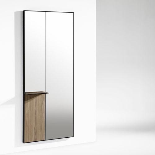 Specchio a muro / con ripiano / moderno / rettangolare MIR by Francesc Rifé KENDO MOBILIARIO