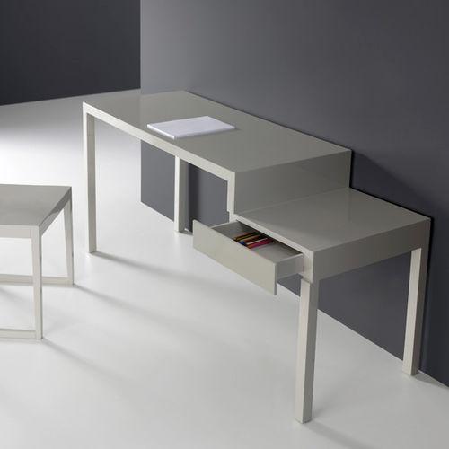 Scrivania in legno massiccio / in MDF laccato / moderna / professionale STEP by Francesc Rifé KENDO MOBILIARIO