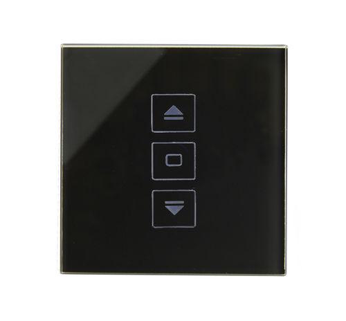 interruttore per persiana avvolgibile / tattile / in cristallo / moderno