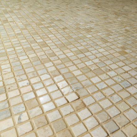 Mosaico da interno / a pavimento / in marmo / anticato   anand ...