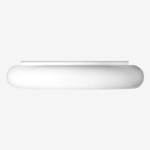 plafoniera moderna / tonda / in acciaio verniciato / in polietilene