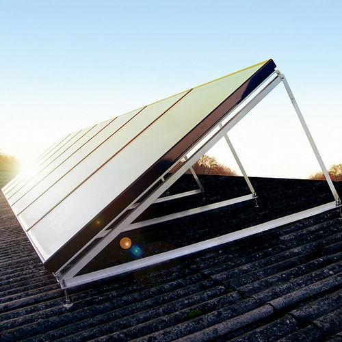 pannello termico piano / per riscaldamento / per l'integrazione architettonica / con telaio