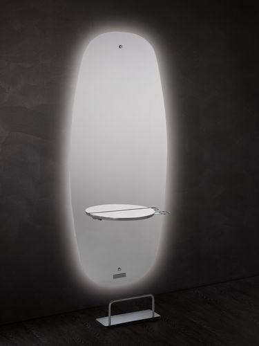 mobile da toeletta moderno / in laminato / da parete / per parrucchiere
