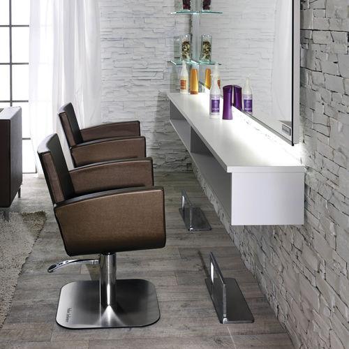 poltrona da parrucchiere in ecopelle - Salon Ambience