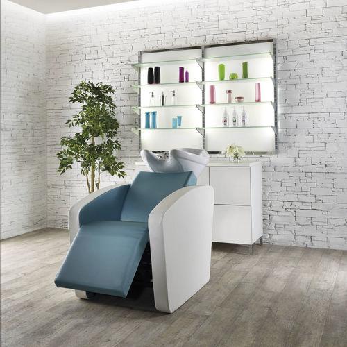 lavatesta con poggiapiedi - Salon Ambience