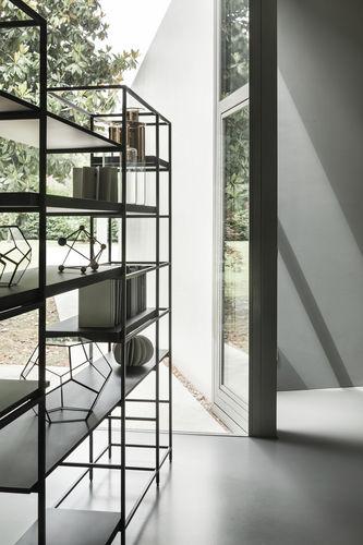 scaffale moderno / in legno / in metallo / in legno dipinto