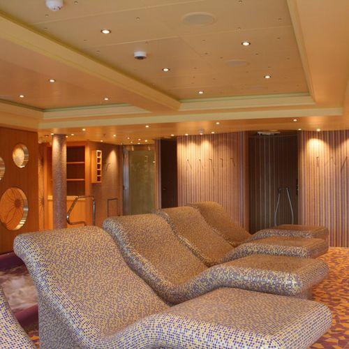 chaise longue moderna / in polistirene espanso PSE / per centri benessere / per centro benessere