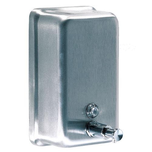 distributore di sapone contract / da parete / in acciaio inossidabile / in ABS