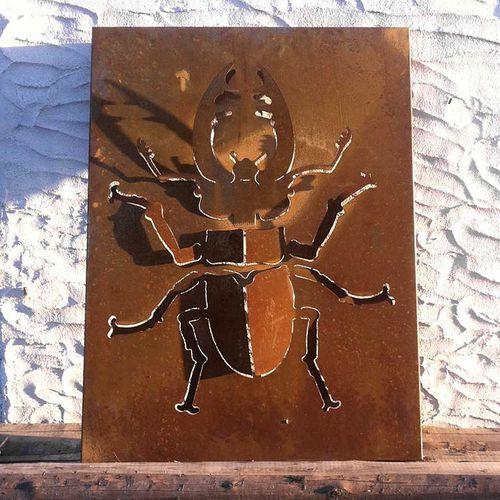 pannello decorativo in metallo / da parete