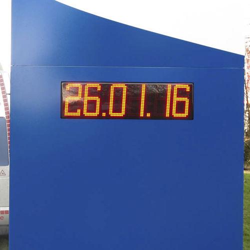orologio moderno / digitale / a muro / LED