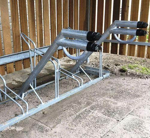stazione di ricarica per bicicletta elettrica