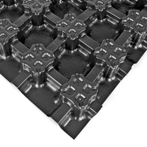 Membrana drenante in poliolefina / di stoccaggio dell'acqua / per tetto vegetale / in materiale riciclato FLORADRAIN® FD 60 NEO ZinCo GmbH