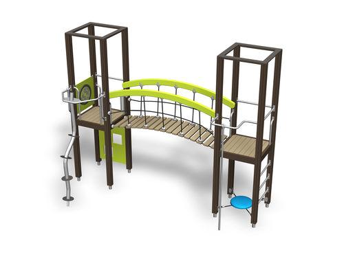 Struttura ludica in legno / per parco giochi / modulare 137054M Lappset